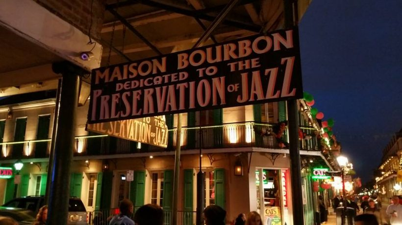 The Jazz Parlor at Maison Bourbon